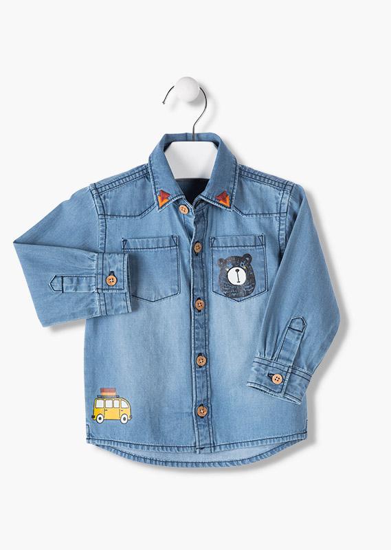 LOSAN Camicia Jeans Bambino